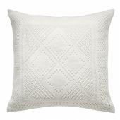 ЛАВФЛЮ Чехол на подушку, белый, четырехугольной формы, 50x50 см