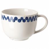 МЕДЛЕМ Кружка,белый/синий,с рисунком