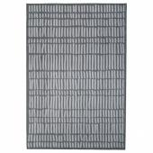 ОМТЭНКСАМ Ковер безворсовый, серый, 133x195 см