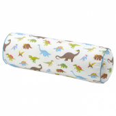 ЙЭТТЕЛИК Подушка, динозавр, разноцветный, 80 см
