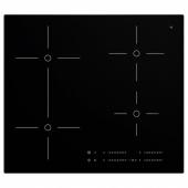 СМАКЛИГ Индукц варочн панель, черный, 59 см