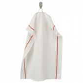 ТЕКЛА Полотенце кухонное,белый,красный