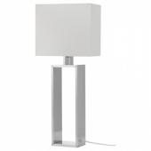 СТИЛТЬЕ Лампа настольная, белый с оттенком, цвет алюминия