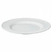 УППЛАГА Тарелка десертная, белый, 22 см