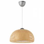 БОЙА Подвесной светильник, бамбук
