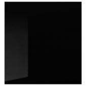 СЕЛЬСВИКЕН Дверь, глянцевый черный, 60x64 см
