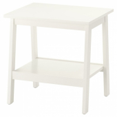 ЛУНАРП Придиванный столик,белый