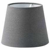 СКОТТОРП Абажур, серый, 19 см