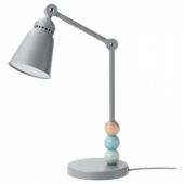 ЛАНТЛИГ Рабочая лампа, светодиодная,серый
