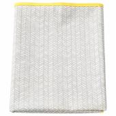 КЛЭММИГ Пеленальная подстилка, серый, желтый, 90x70 см
