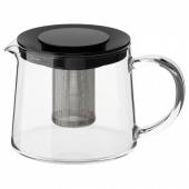 РИКЛИГ Чайник заварочный, стекло, 0.6 л
