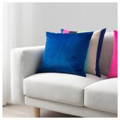 ВЕНЧЕ Чехол на подушку, синий, 50x50 см