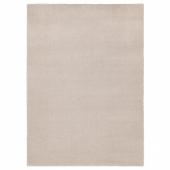 ТЮВЕЛЬСЕ Ковер, короткий ворс, белый с оттенком, 170x240 см