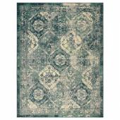 ВОНСБЭК Ковер, короткий ворс, зеленый, 170x230 см