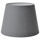 СКОТТОРП Абажур, серый, 42 см