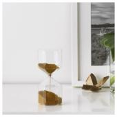 ТИЛЛСЮН Декоративные песочные часы, прозрачное стекло, 16 см