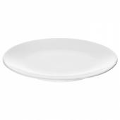 ФЛИТИГХЕТ Тарелка десертная, белый, 20 см