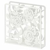 ЛИКСИДИГ Салфетница, белый, 16x16 см