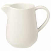 ВАРДАГЕН Молочник/сливочник, белый с оттенком, 39 сл