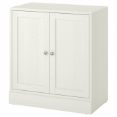 ХАВСТА Шкаф с цоколем, белый, 81x89x47 см