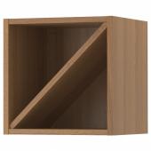 ВАДХОЛЬМА Шкаф для вина, коричневый, мореный ясень, 40x37x40 см