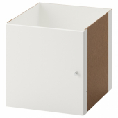 КАЛЛАКС Вставка с дверцей, белый, 33x33 см