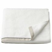 ВИКФЬЕРД Банное полотенце, белый, 70x140 см