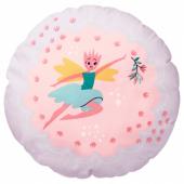 ЛАТТО Подушка, фея, светло-розовый сиреневый, 41 см