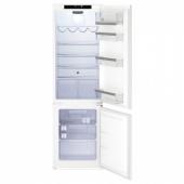 ИСАНДЕ Встраив холодильник/морозильник А+, система No Frost белый, 192/61 л