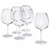 СТОРСИНТ Бокал для красного вина, прозрачное стекло, 67 сл