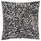 ГРИМХИЛД Чехол на подушку, черный, неокрашенный, 50x50 см