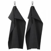 ИКЕА/365+ Полотенце кухонное,черный