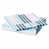 ФРАМКЭЛЛА Салфетка бумажная, разные цвета, 33x33 см