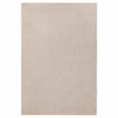 ТЮВЕЛЬСЕ Ковер, короткий ворс, белый с оттенком, 133x195 см