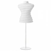 НЭПЕН Вешалка д/одежды с чехлом, белый, 77-127 см
